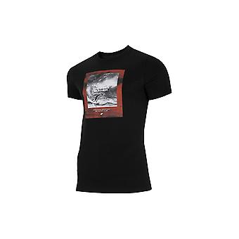 4F TSM028 H4L21TSM028GBOKACZER universal all year men t-shirt