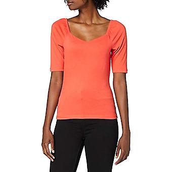 PIECES Pcnoraja SS Top BC T-Shirt, Granatina, L Woman