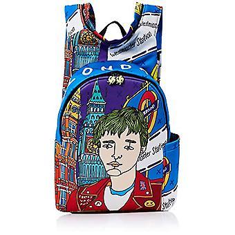 MorikukkoMorikukko Hooded Backpack LondonUnisex - AdultZainiMulticolore (London)33x8x40 Centimeters (W x H x L)