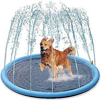 Smmer Dog Toy Splash Sprinkler Pad Thicken Pet Pool Interactive Outdoor Play Tapis d'eau