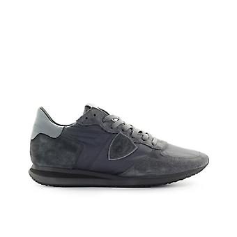 Philippe Model Trpx Mondial Anthracite Grey Sneaker