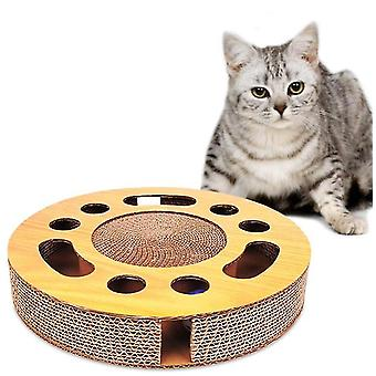 Cat toy with sturdy scratching pads x1408