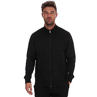 Men's Russell Athletic Track Jacket in Black