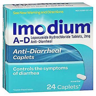 Imodium Imodium A-D Anti-Durchfall-Caplets, 24 Tabletten