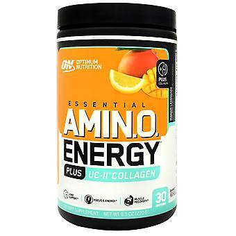Optimal nutrition aminoenergi + UC II kollagen, Mango Lemonade 9.5 Oz