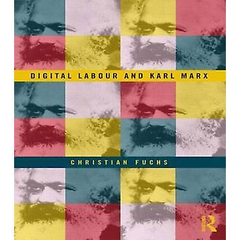 Digitala arbets- och Karl Marx av Christian Fuchs