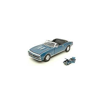 MotorMax American Classics - 1967 Chevy Camaro SS - Metallic Blue 1:24