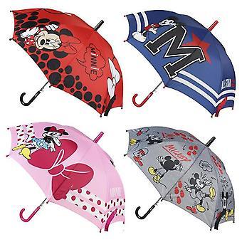 Automatic Umbrella Mickey Mouse Disney Navy Blue (Ø 45 cm)