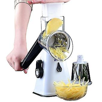 Manual Rotary Cheese Graters,slice, Shred, And Grind