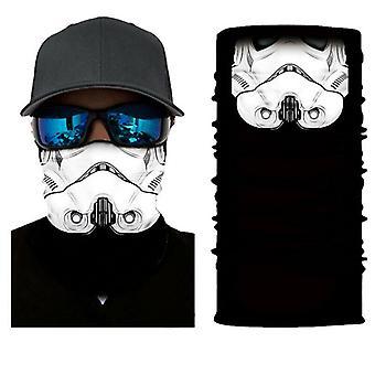 (1) Sturmhaube Gesichtsbedeckung Schal Snood Hals Schlauch Bandana Radfahren Biker Snood Outdoor