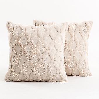 Olohuone sohva muhkea tyynyliina pehmeä kiinteä väri timantti kirjailtu sametti