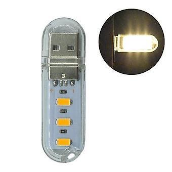 Mini USB LED Nachtlicht. Tisch-Schreibtischlampe
