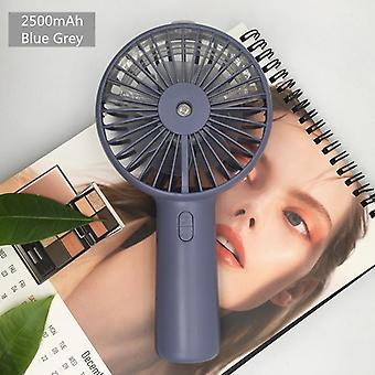 Mini fans battery portable water spray mist fan  usb rechargeable handheld mini fan