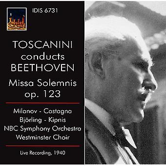 Beethoven / Milanov / Toscanini - Toscanini dirigiert Beethoven / Missa Solemnis [CD] USA import