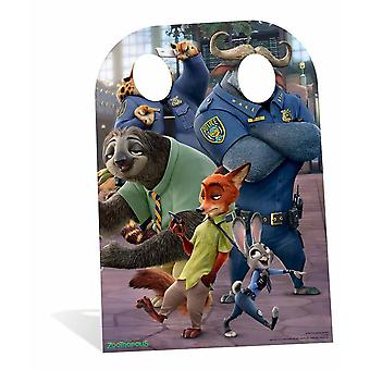 Zootropolis It Starts With All of Us Child Size Cardboard Cutout / Standee Stand-In