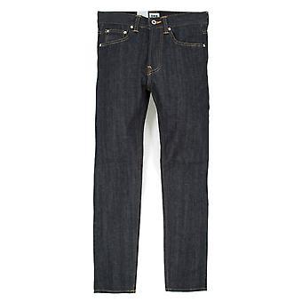 Edwin jeans ED-80 Slim avsmalnande röd selvedge denim-otvättad