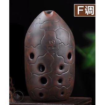 10 Holes Xun Ocarina Music Instrument Ancient Wind Instrument Flute F Tone Great Sound