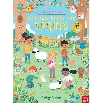 National Trust Getting Ready for Spring A Sticker Storybook National Trust Sticker Storybooks