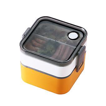 Homemiyn draagbare lunchbox, dubbele laag enkele laag grote capaciteit voor auto en home lek bewijs