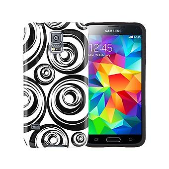 Xentris Soft Shell Case for Samsung Galaxy S5 (cercles)