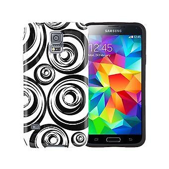 Xentris Soft Shell Case for Samsung Galaxy S5 (Circles)