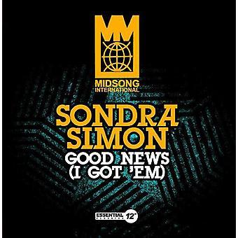 Sondra Simon - buenas noticias (I Got Em) importación de Estados Unidos [CD]