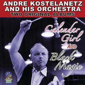Andre Kostelanetz & His Orchestra - Two Original Albums Calendar Girl & Black Magic [CD] USA import