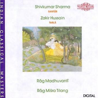 Sharma/Hussain - importation USA Rag Madhuvanti/Misra [CD]