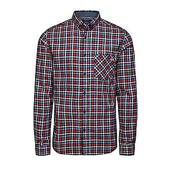 Jack and Jones One Get Leeds Red Casual Shirt