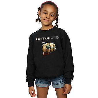 Disturbed Girls Fist Logo Sweatshirt