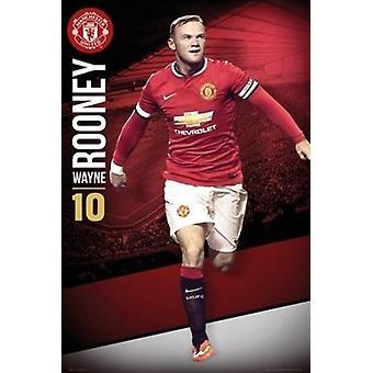 Manchester UTD Rooney 1415 juliste Juliste Tulosta