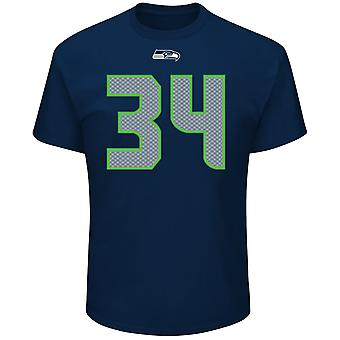 Majestic NFL shirt - Seattle Seahawks #34 Thomas Rawls