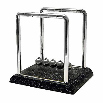 Newton's Cradle w/marmer Look Base