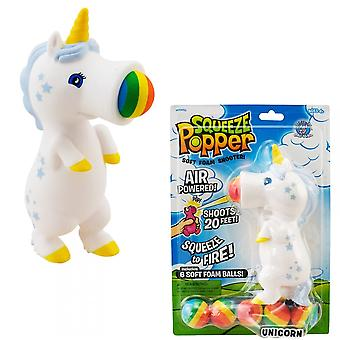 Cheatwell Games Unicorn Squeeze Popper - 2 Pack zacht schuim Shooter bundel