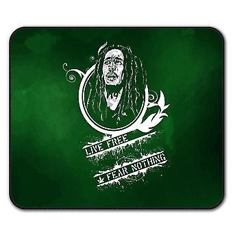 Free No Fear  Non-Slip Mouse Mat Pad 24cm x 20cm | Wellcoda