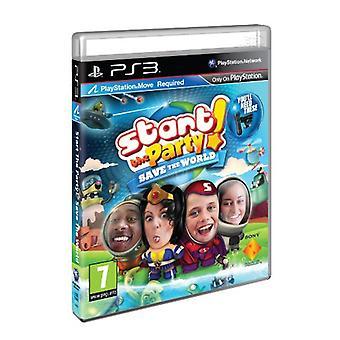 Start het feest! Save the World - Move Required (PS3) - Als nieuw