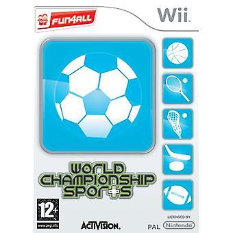 World Championship Sports (Wii)-nieuw