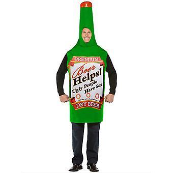 Bière bouteille Costume 12345
