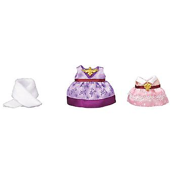Sylvanian Familie 6020 Dress up Set, Lila/Rosa