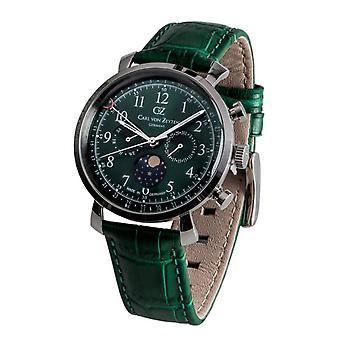 Carl of Zeyten men's watch wristwatch quartz Urach CVZ0015GR