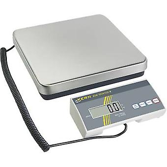 Kern pakke skalerer vektklasser 35 kg lesbarhet 10 g strømnettet-drevet, batteridrevet sølv