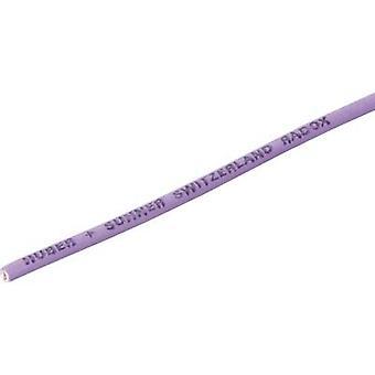Huber & Suhner 12420327 Strand Radox® 155 1 x 0.75 mm² Violet Sold per metre