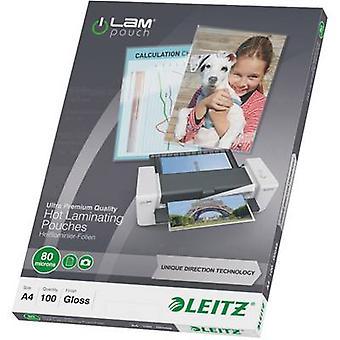 Leitz laminaat blad A4 80 micron glanzend 100 PC (s)