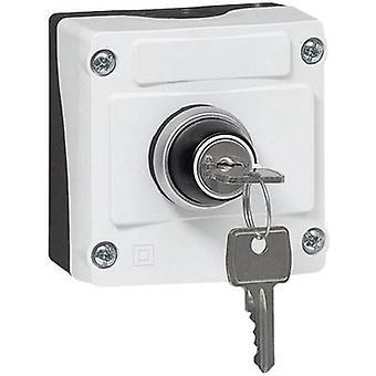 BACO LBX12610 Commutateur de clé - enclos Noir, Clé Grise 1 pc(s)