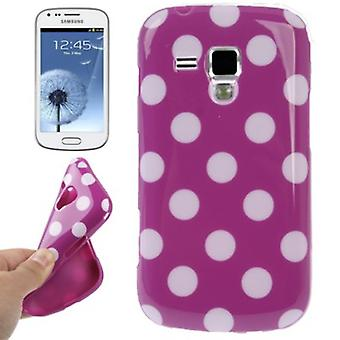 Etui TPU fait affaire pour duos mobiles de Samsung Galaxy S S7562
