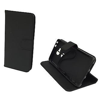 Handyhülle Tasche für Handy Huawei Honor 5X Schwarz