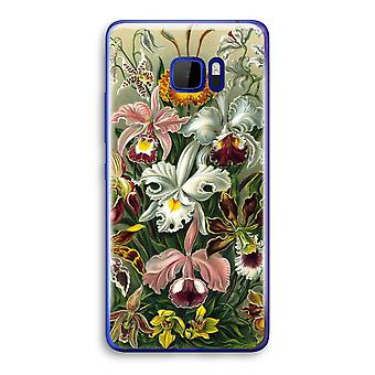 HTC U Ultra przezroczysty (Soft) - Haeckel Orchidae