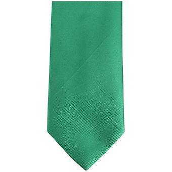 Bassin og Brown ren silke slips - grønn/oransje