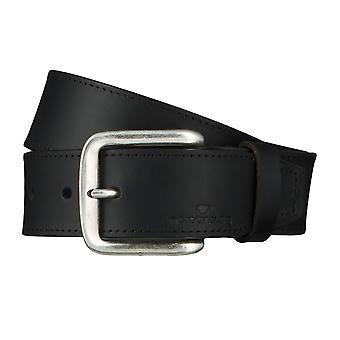 Jeans ceintures de hommes ceintures en cuir TOM TAILOR ceinture ceinture noire 4628