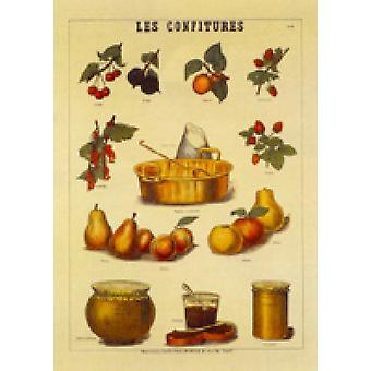 Les Confitures (50x70) Poster Print (28 x 20)